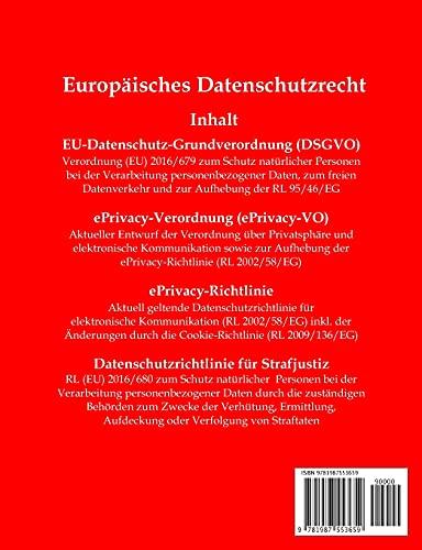 DSGVO, EU-Datenschutz-Grundverordnung, Aktuelle Gesetze - 2