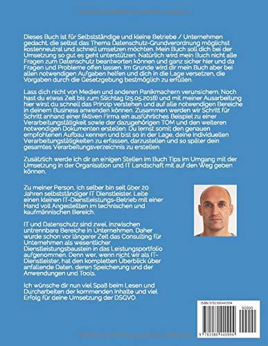 Datenschutz-Grundverordnung DSGVO selbst und schnell: für Selbstständige und kleine Betriebe/Unternehmen - 2